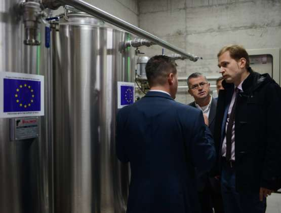 EU supports wine processing company BIOPAK